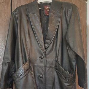 G iii Leather jacket women's